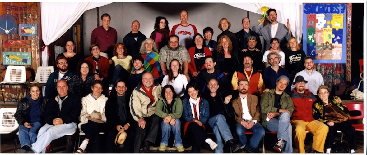 Throwback Thursday - our 2006 KlezKanada Faculty. Photo: David Kaufman.